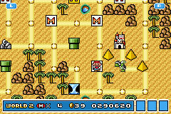 Super Mario Advance 4 - Super Mario Bros. 3 - First try.  - User Screenshot